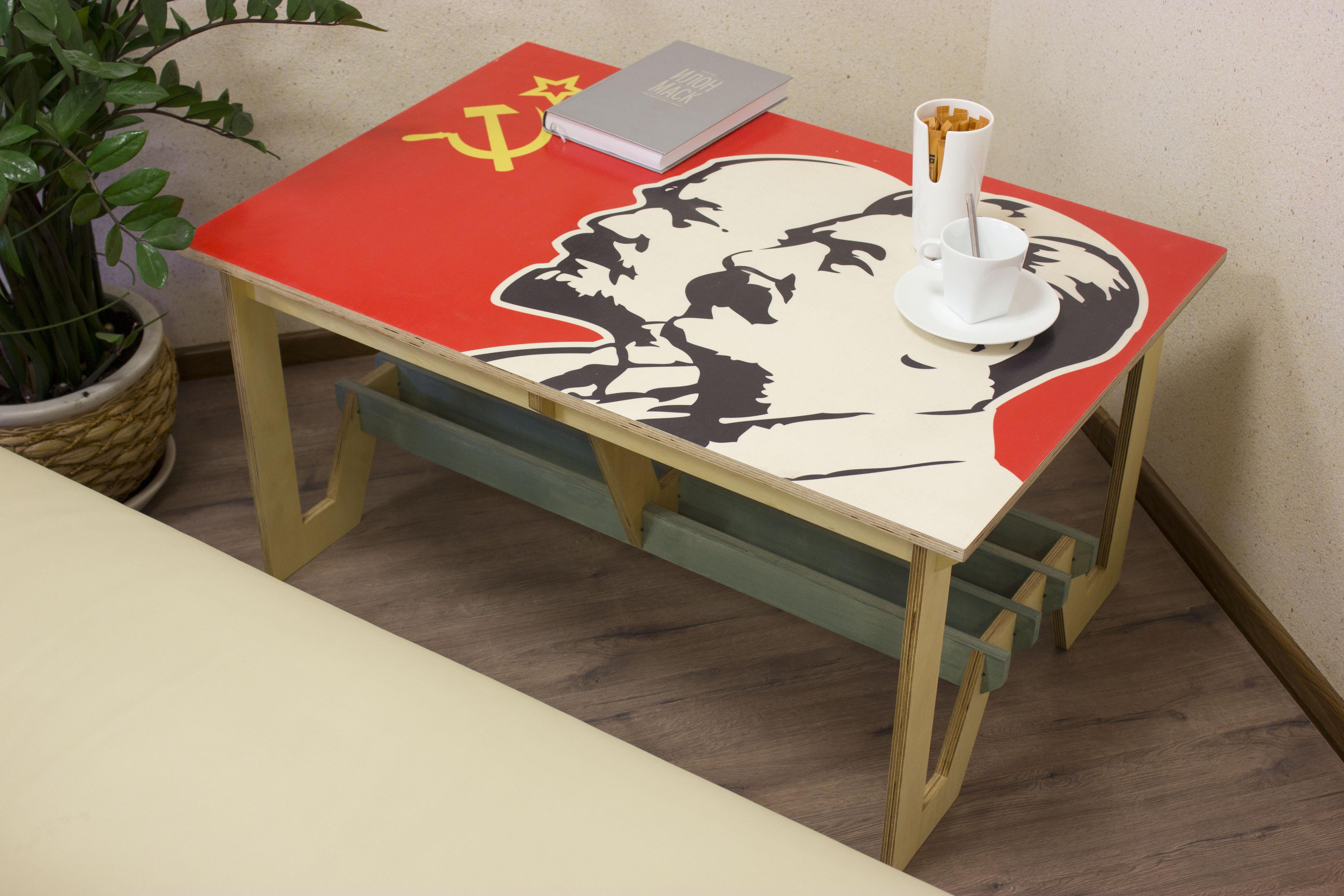 Стол дизайнерский «Назад в СССР»