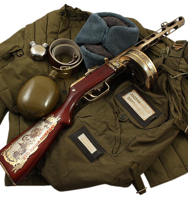 Подарок на 23 февраля - Пистолет пулемет