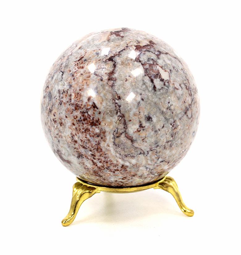 Шар из камня криноид